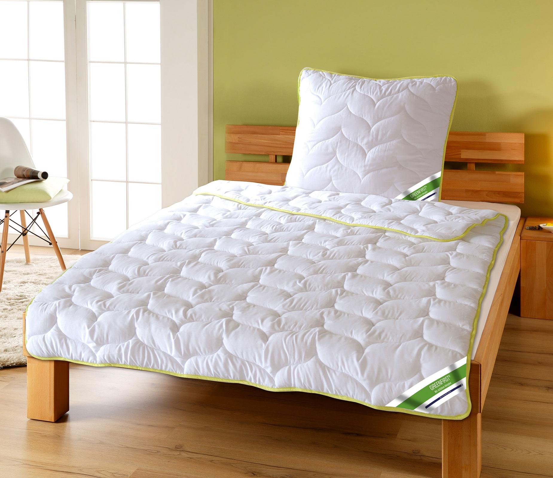 Bettdecken und Kopfkissen - Greenfirst Steppdecke Bettdecke mit Schutz vor Mücken Milben von KBT  - Onlineshop PremiumShop321