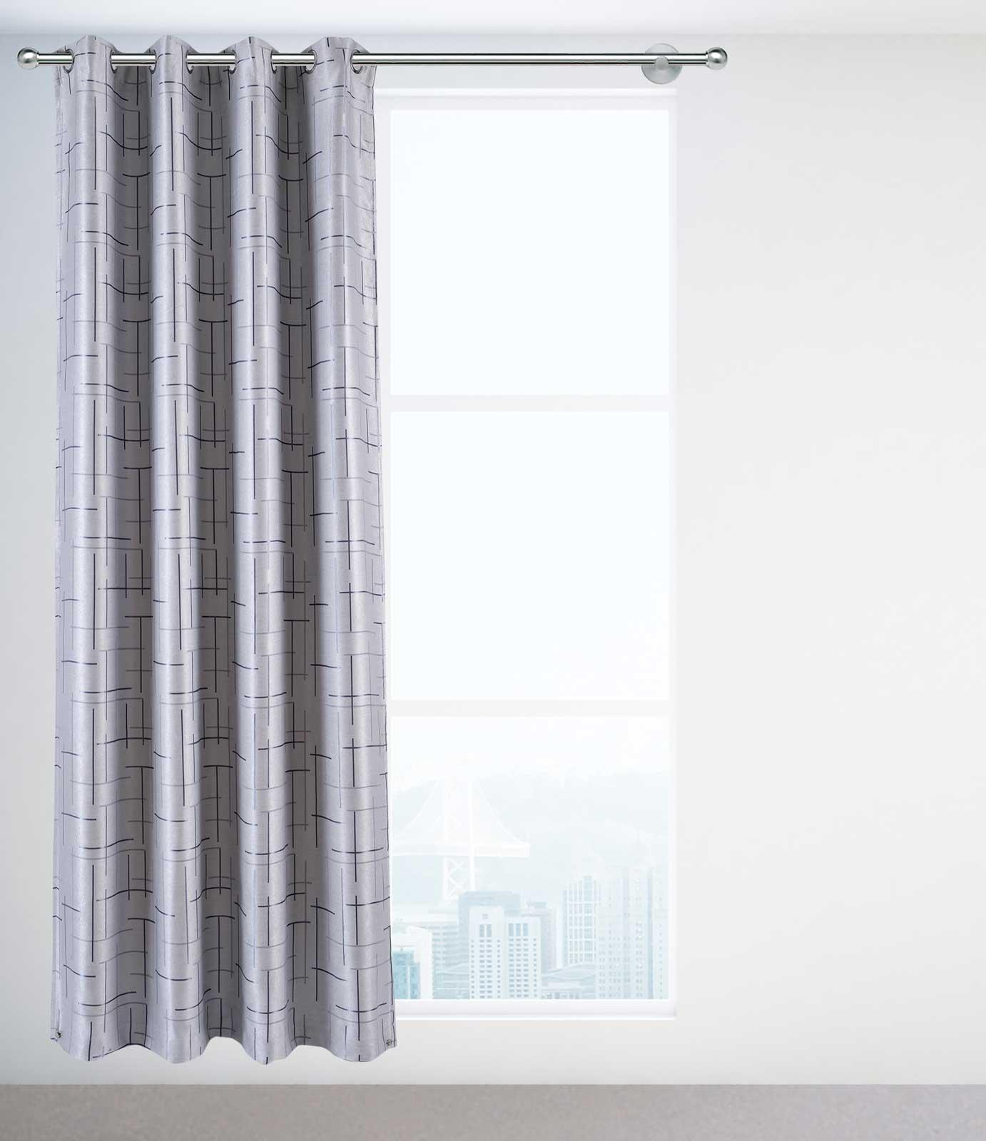 Gardinen und Vorhänge - 2er Pack Goldmond Verdunkelungsvorhang Vorhang Wildleder Optik New York 140x245cm hellgrau  - Onlineshop PremiumShop321