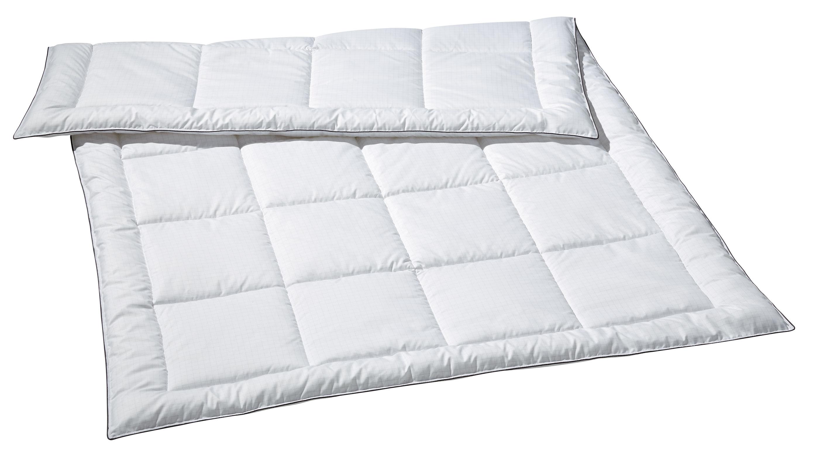 Bettdecken und Kopfkissen - Sommerdecke Sommer Bettdecke Carbon Edition Opti Dream 135x200  - Onlineshop PremiumShop321