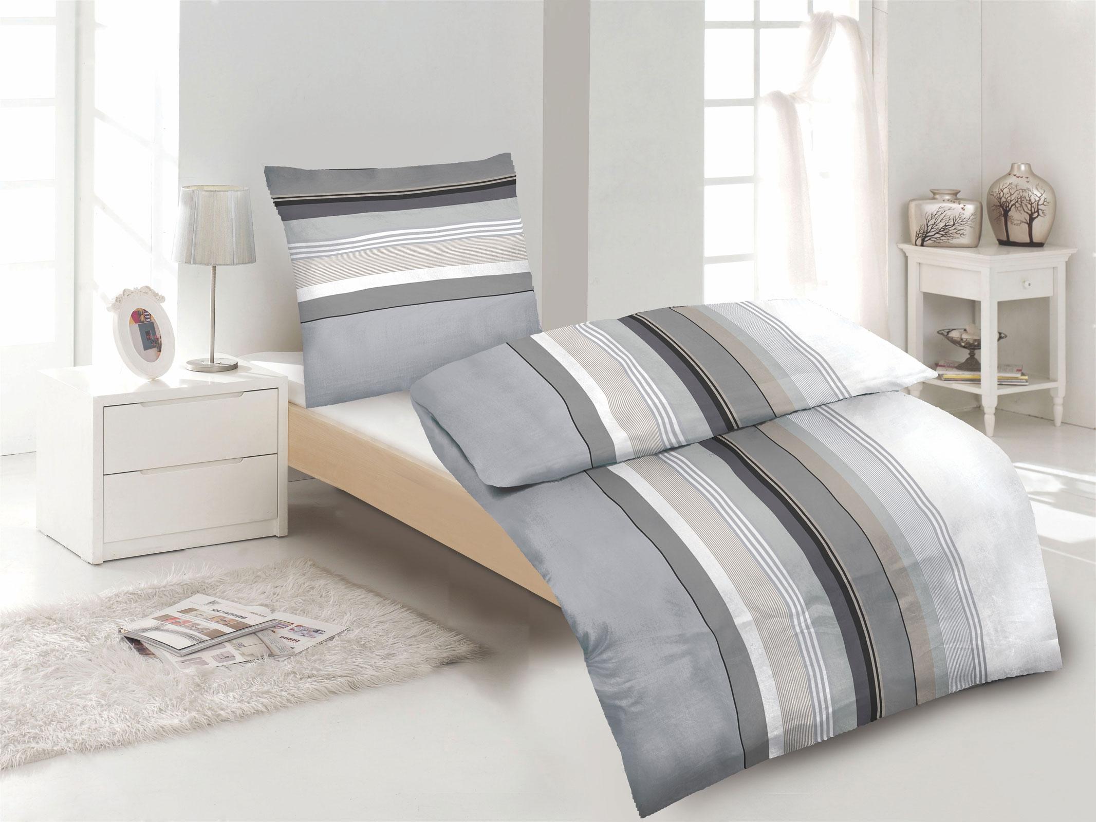 biber winter bettw sche 100 baumwolle rei verschluss incl aufbewahrungsbeutel ebay. Black Bedroom Furniture Sets. Home Design Ideas