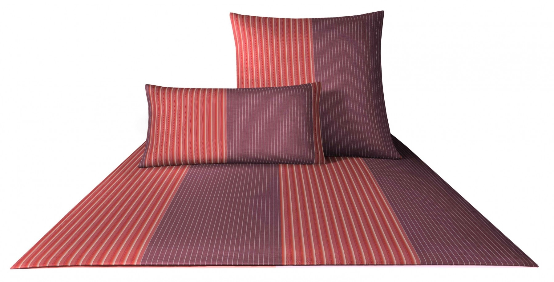 Bettwäsche - 4tlg. Joop Mako Satin Bettwäsche Double Stripes 155x220 4054 1  - Onlineshop PremiumShop321