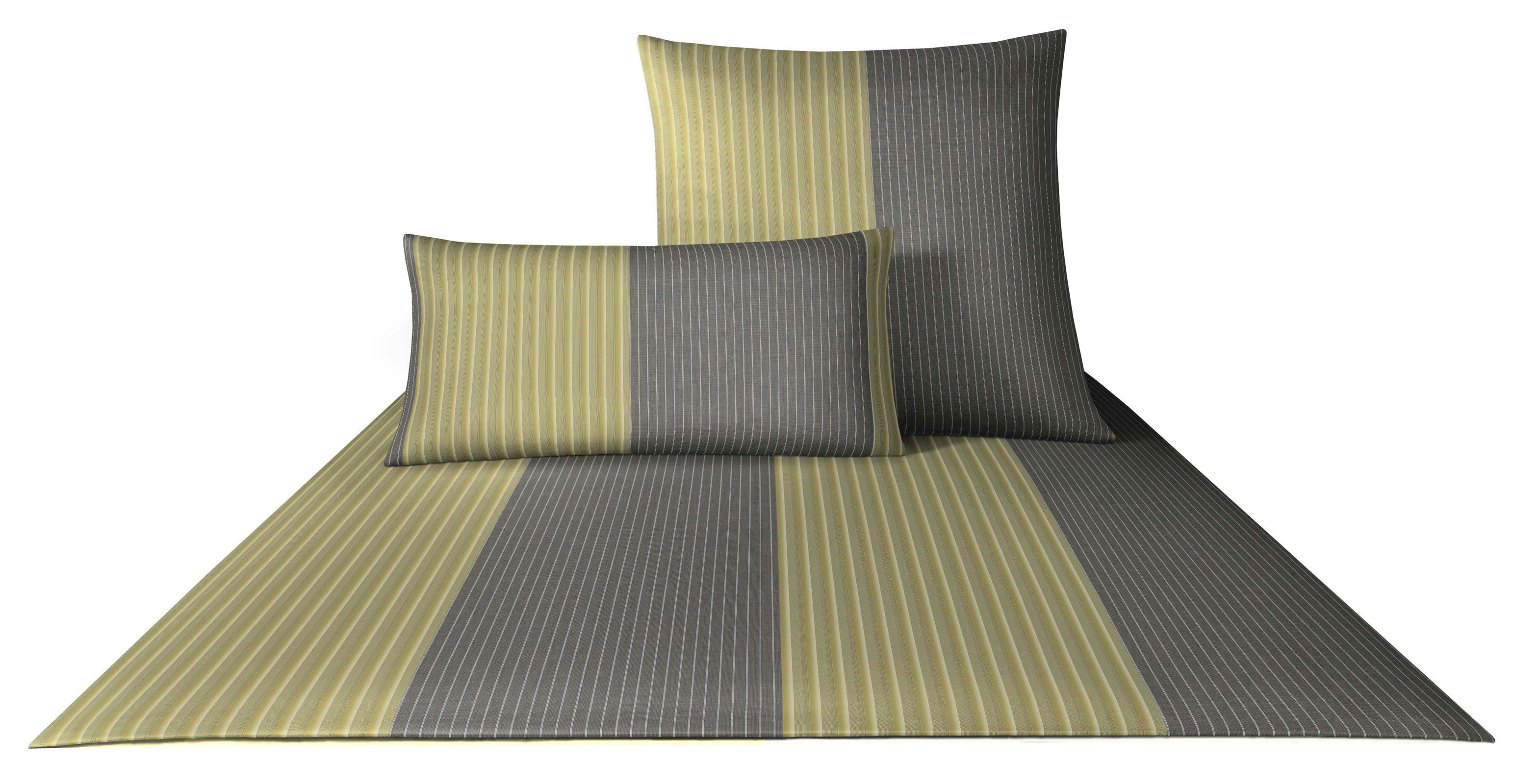 Bettwäsche - 4tlg. Joop Mako Satin Bettwäsche Double Stripes 155x220 4054 4  - Onlineshop PremiumShop321