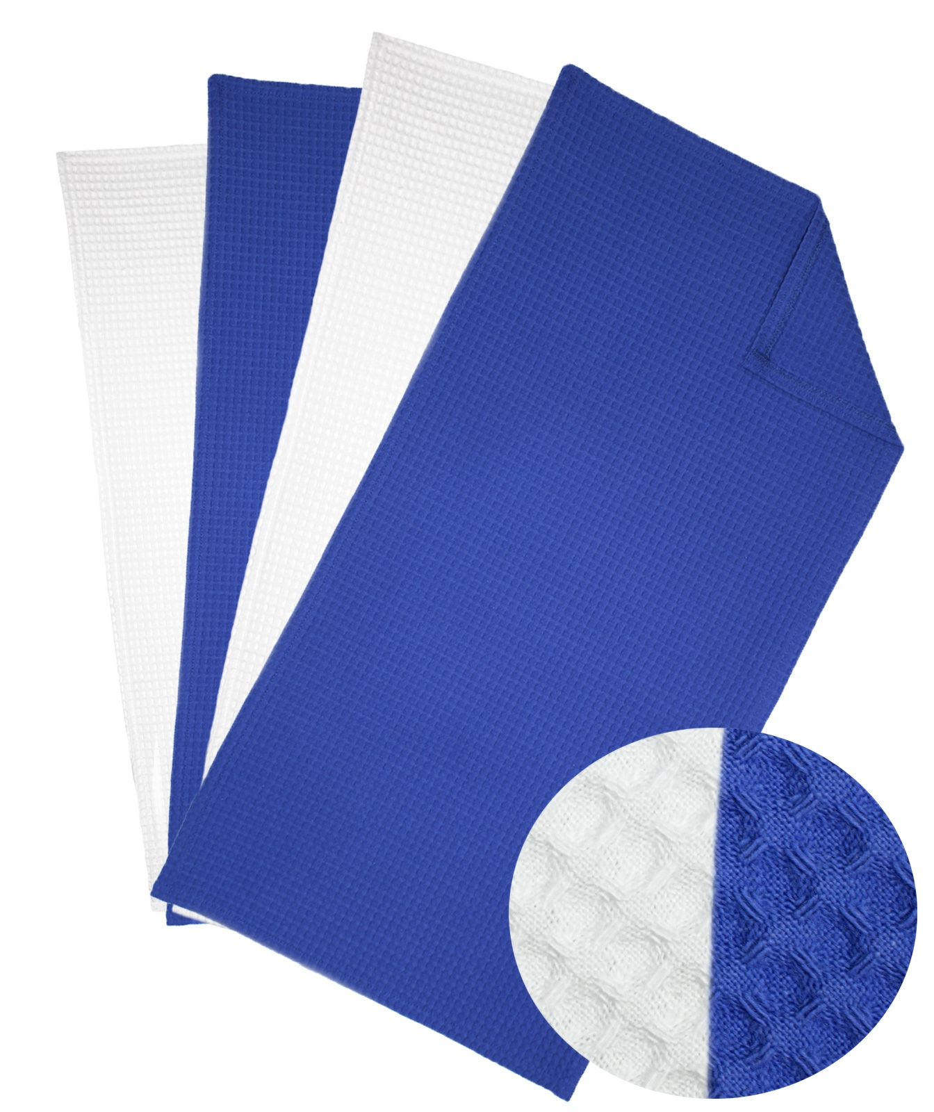 Küchentextilien - 6er Pack excellence Geschirrtücher Waffel Pique Küchenhandtuch 40x80 cm  - Onlineshop PremiumShop321