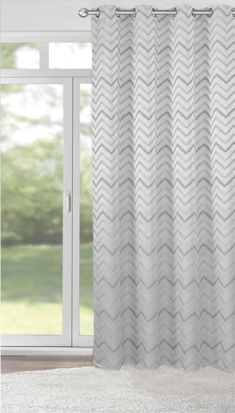 Gardinen und Vorhänge - Ösenschal Vorhang Gardine 140x245 blickdicht mit Metallösen Ziko 898092  - Onlineshop PremiumShop321
