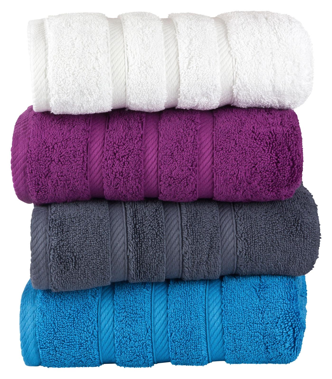 Handtücher Duschtücher Gästetücher Badetücher Frotte BAUMWOLLE Saunatuch Glatt