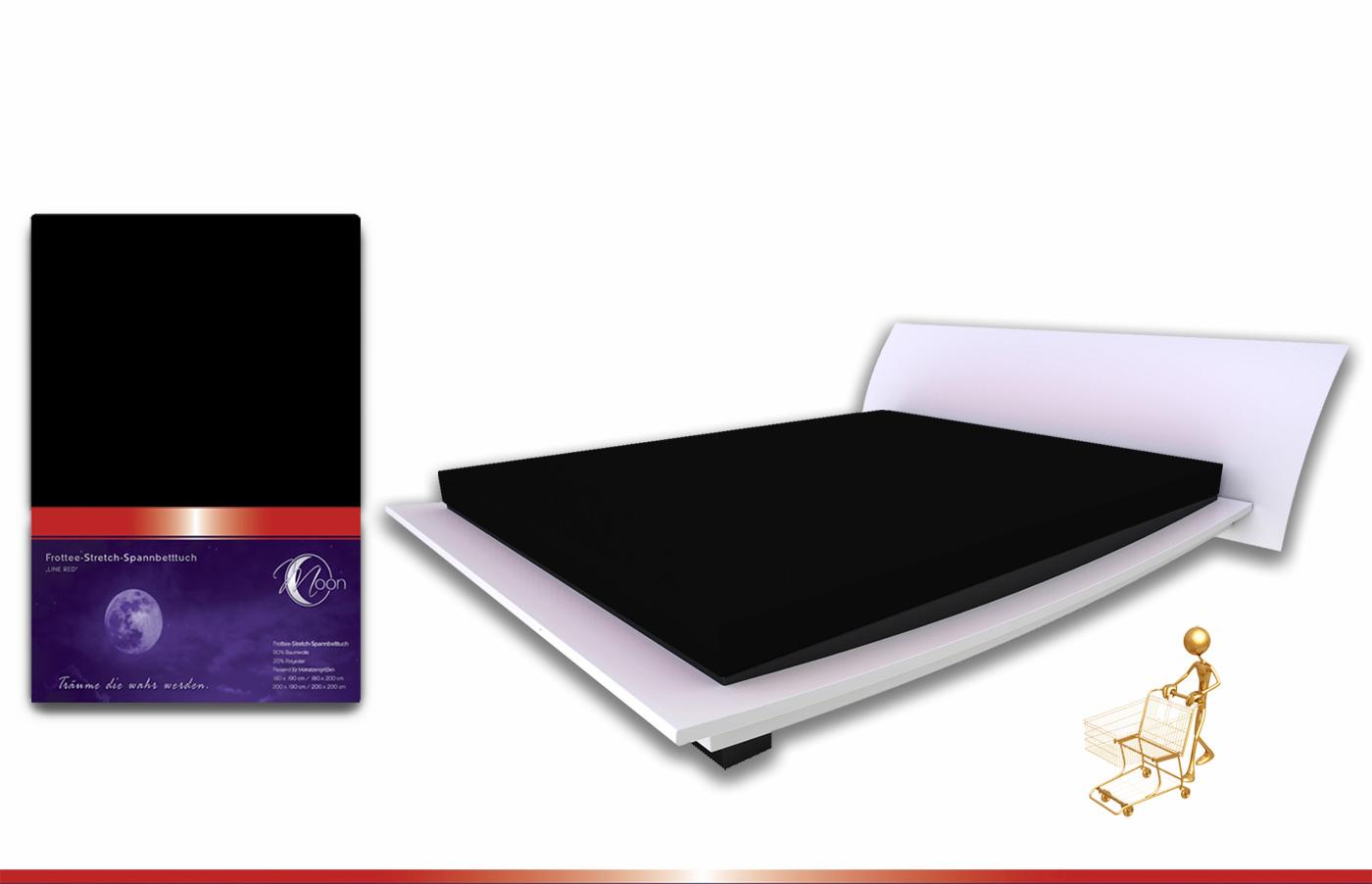 premium frottee spannbetttuch spannbettlaken 200x200 bettlaken top qualit t ebay. Black Bedroom Furniture Sets. Home Design Ideas