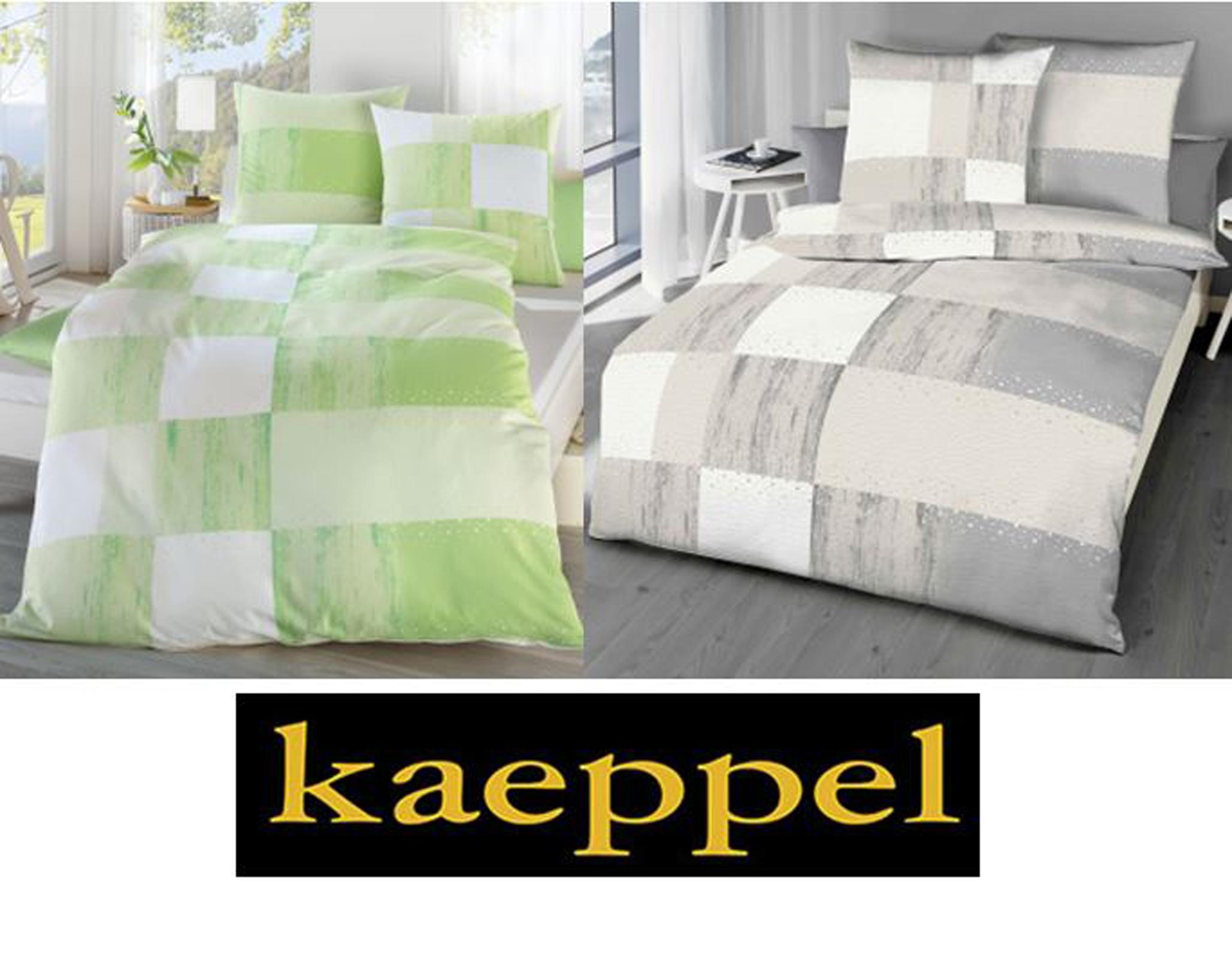 kaeppel seersucker bettw sche clipped 772 incl aufbewahrungsbeutel ebay. Black Bedroom Furniture Sets. Home Design Ideas