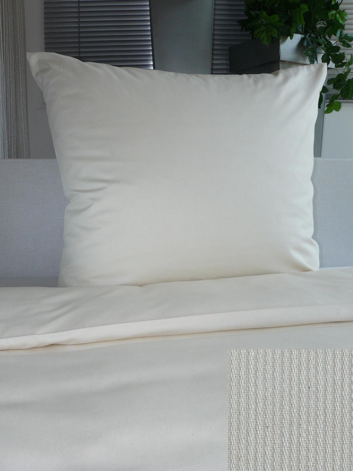 Bettwäsche - Hotelbettwäsche Cotele 80x80 135x200 Cappuccino 100 Baumwolle 95° Reißverschluss  - Onlineshop PremiumShop321