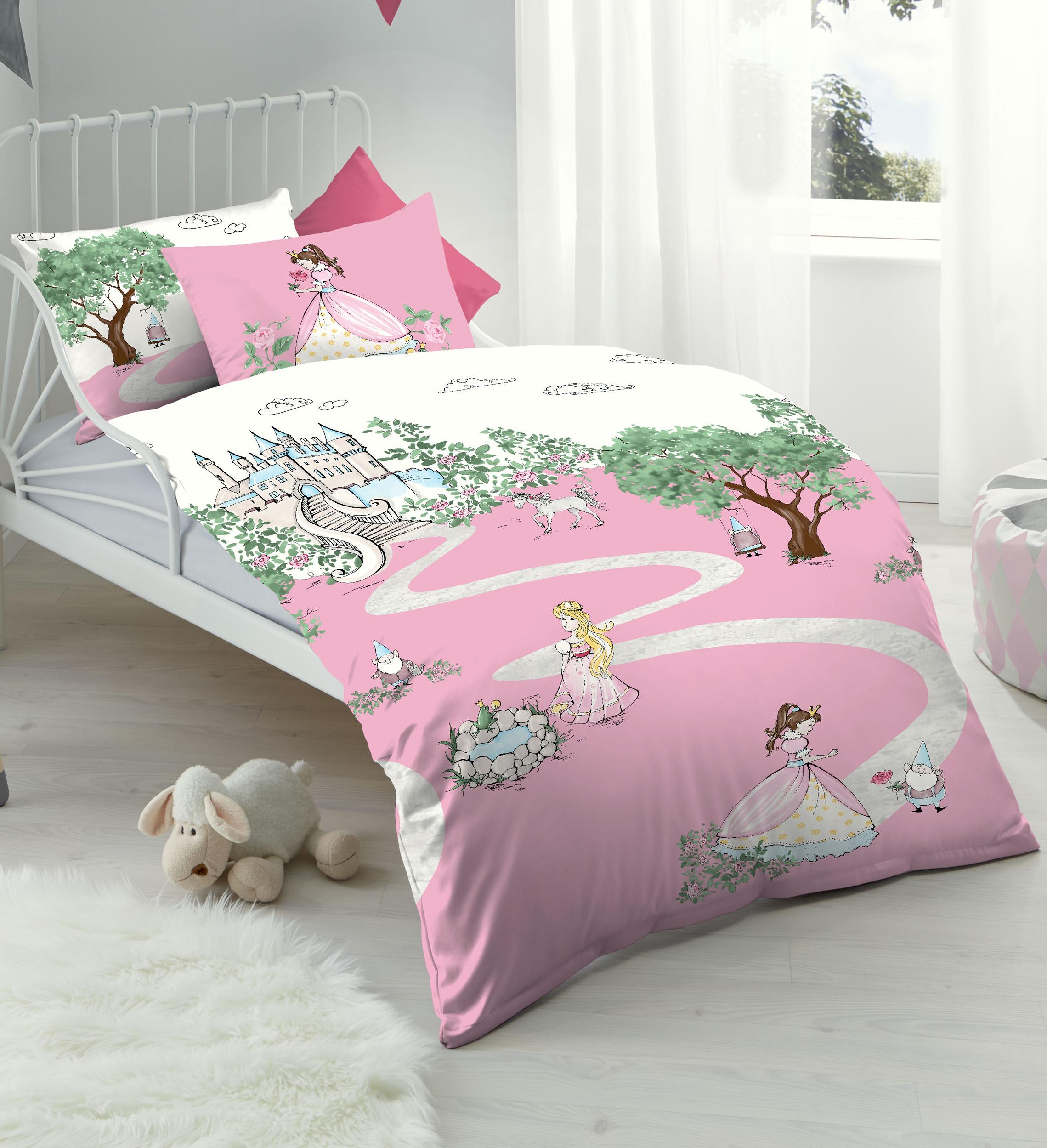 kaeppel biber feinbiber bettw sche es war einmal 100x135 aufbewahrungsbeutel 4251446502610 ebay. Black Bedroom Furniture Sets. Home Design Ideas