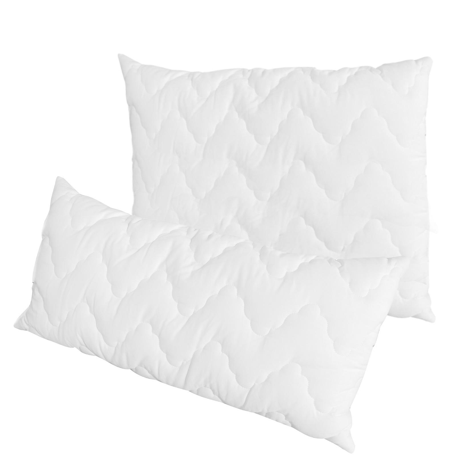 Bettdecken und Kopfkissen - Dream Sleep Kissen Kopfkissen 95° kochfest Bezug 100 Baumwolle 40x80 oder 80x80  - Onlineshop PremiumShop321
