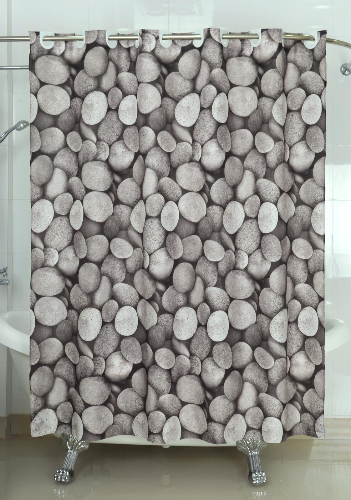 textil duschvorhang badewannenvorhang vorhang 180x200 beschwerung incl 12 ringe ebay. Black Bedroom Furniture Sets. Home Design Ideas