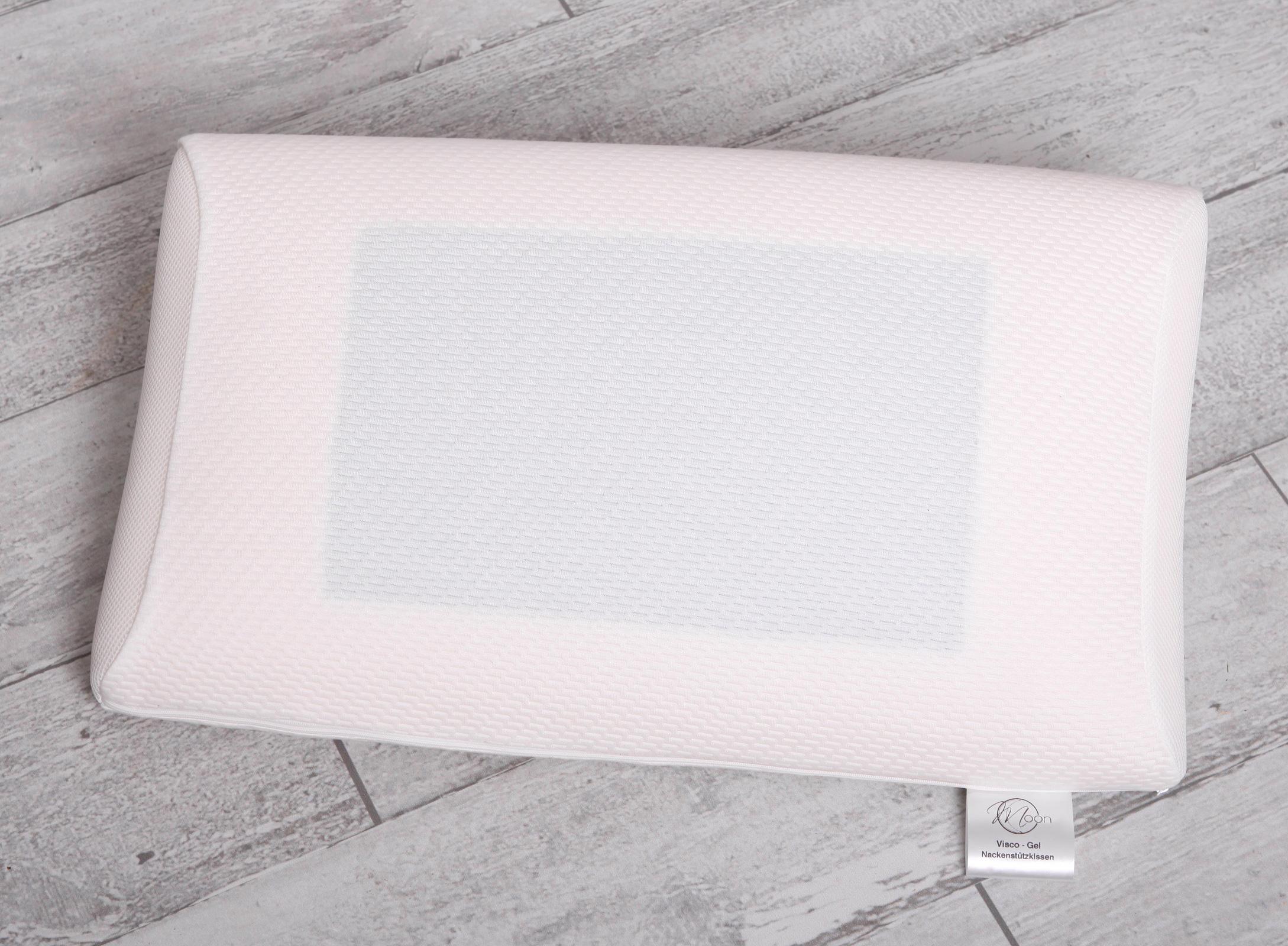 Bettdecken und Kopfkissen - Nackenstützkissen Visco Gel Moon Kopfkissen  - Onlineshop PremiumShop321
