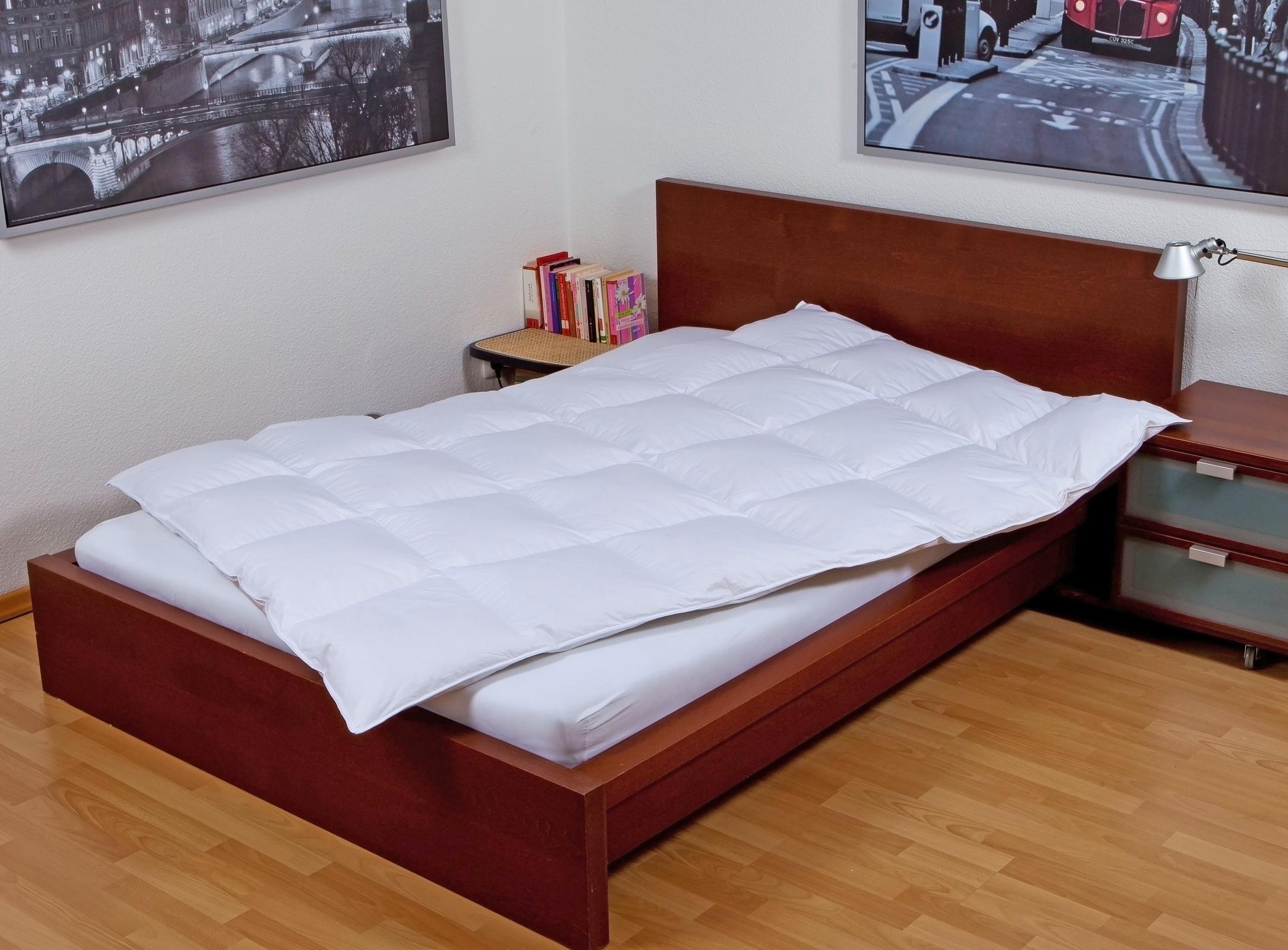 Bettdecken und Kopfkissen - Moon de Luxe Ganzjahresdecke 90 Daunen 10 Federn  - Onlineshop PremiumShop321