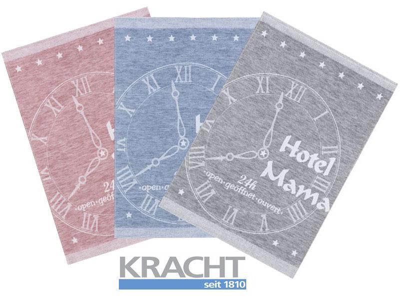 Küchentextilien - 3er Pack Kracht Halbleinen Geschirrtuch 50x70 Hotel Mama 2 448  - Onlineshop PremiumShop321