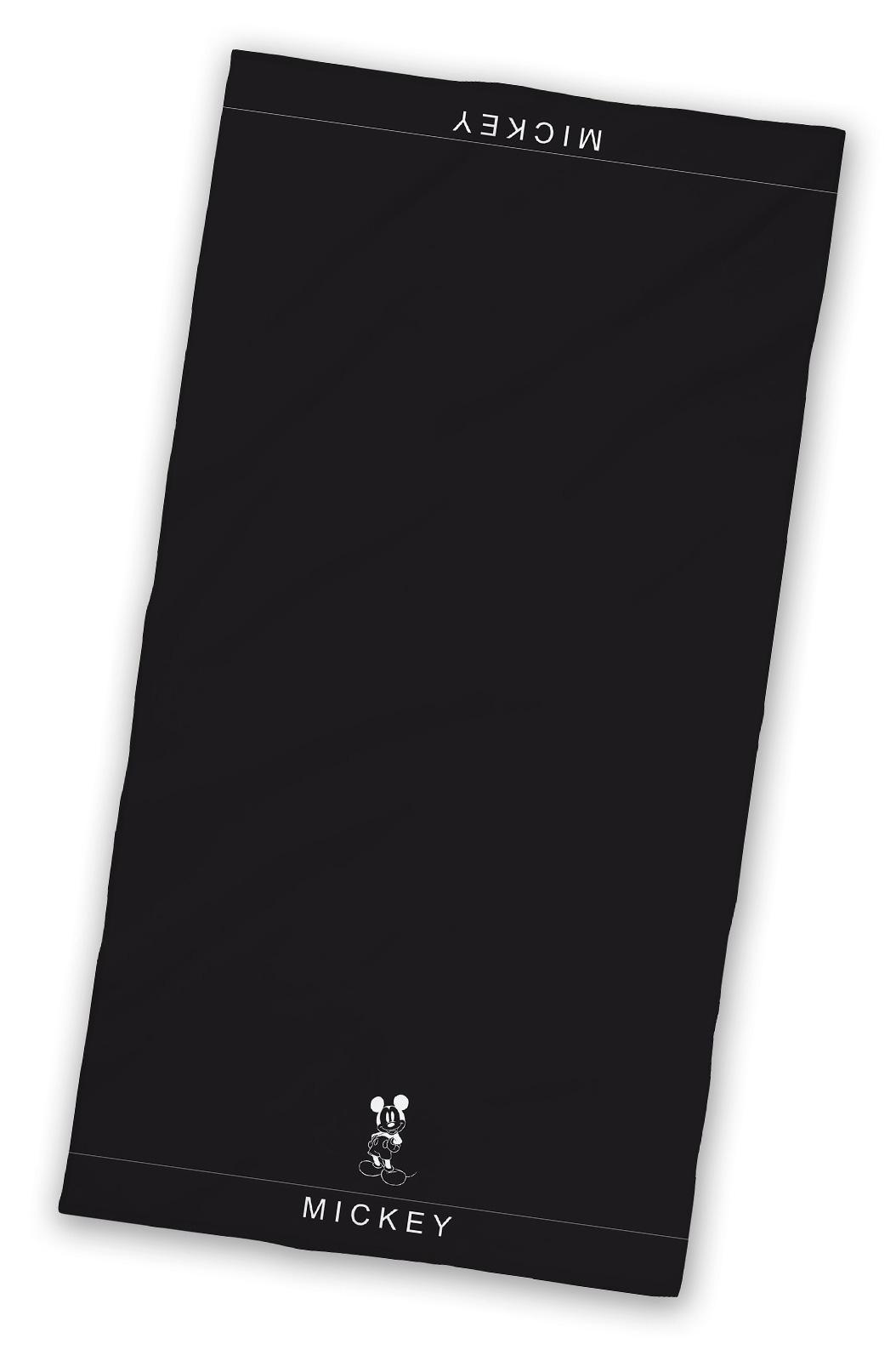 Badtextilien - Disney Frottee Duschtuch Mickey Mouse 70x140 schwarz  - Onlineshop PremiumShop321