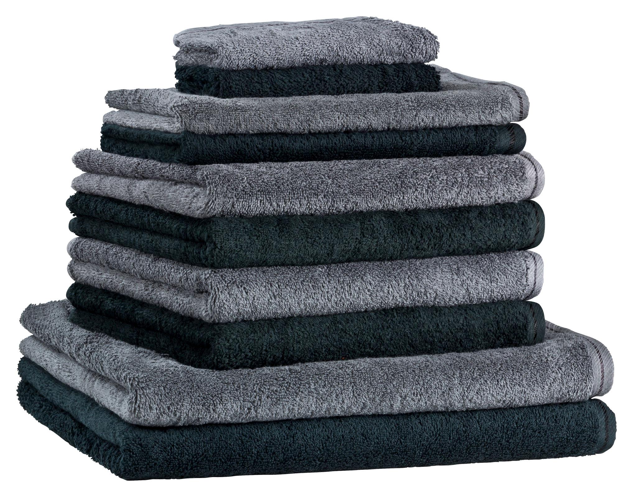 floringo premium handtuchset handtuch set 10 teilig profi. Black Bedroom Furniture Sets. Home Design Ideas