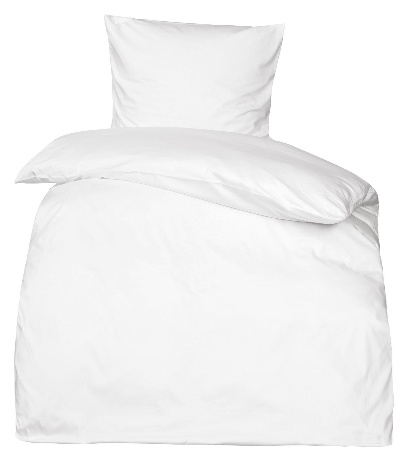 Bettwasche Uni Grun Mako Satin : Premium Mako Satin Bettwäsche uni MOON 100% Baumwolle Bettdecken