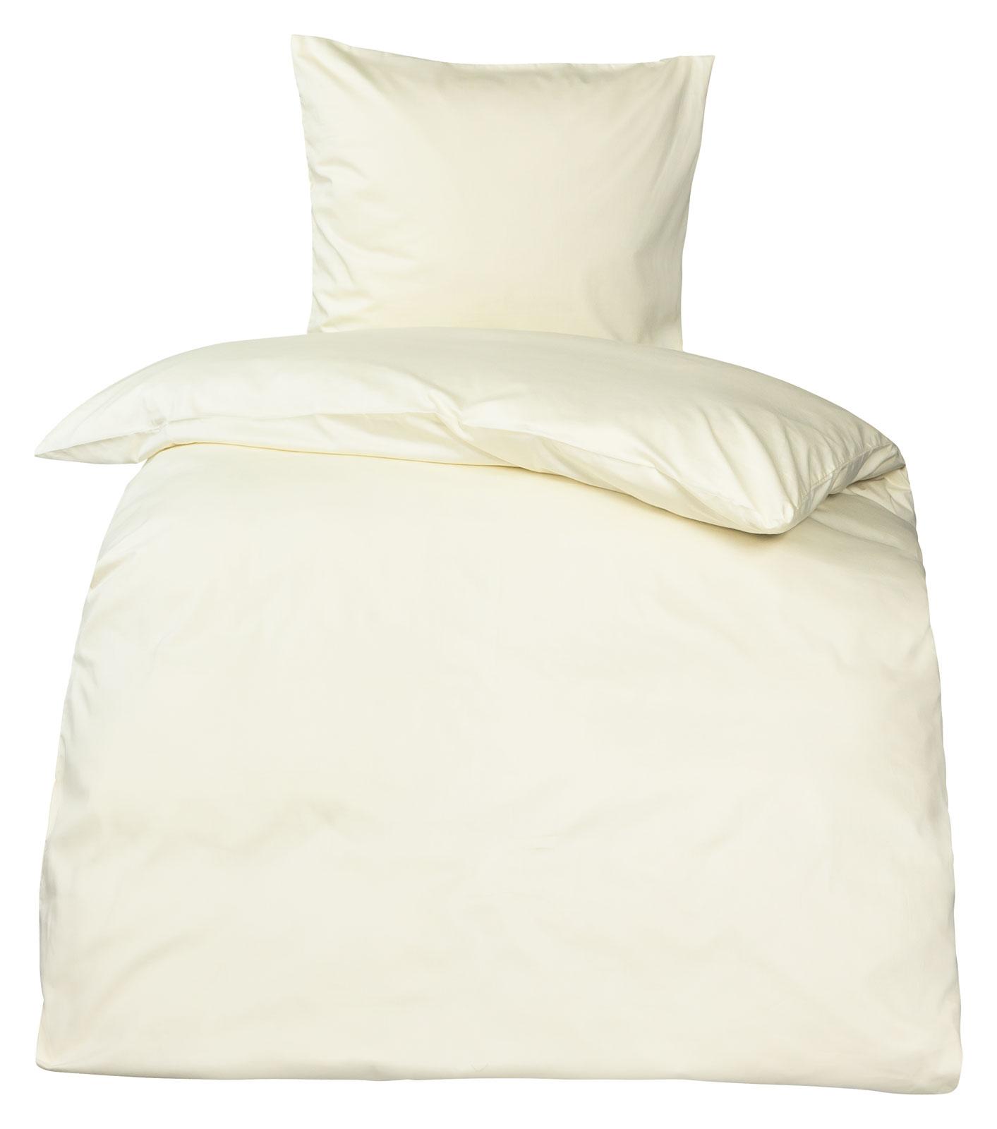 premium mako satin bettw sche uni moon 100 baumwolle. Black Bedroom Furniture Sets. Home Design Ideas