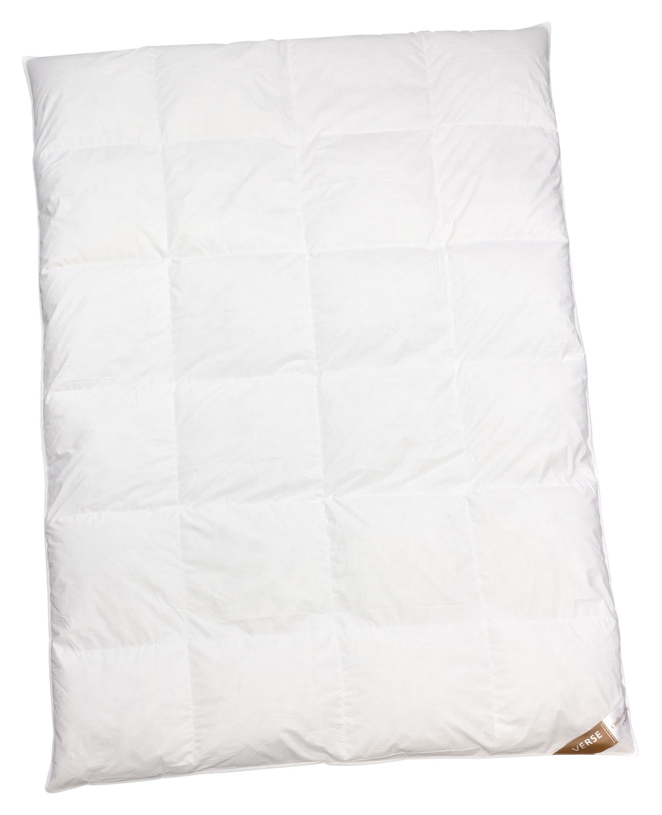 Bettdecken und Kopfkissen - Ganzjahresdecke leicht Daunen Bettdecke 200x220 Verse Collection Dreaming  - Onlineshop PremiumShop321