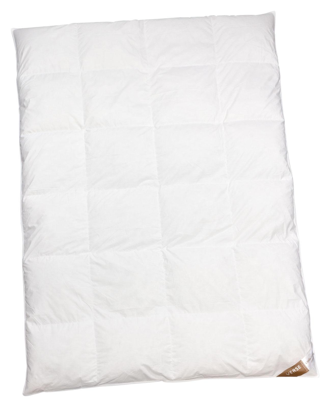 Bettdecken und Kopfkissen - Ganzjahresdecke warm Daunen Bettdecke 200x200 Verse Collection Dreaming  - Onlineshop PremiumShop321