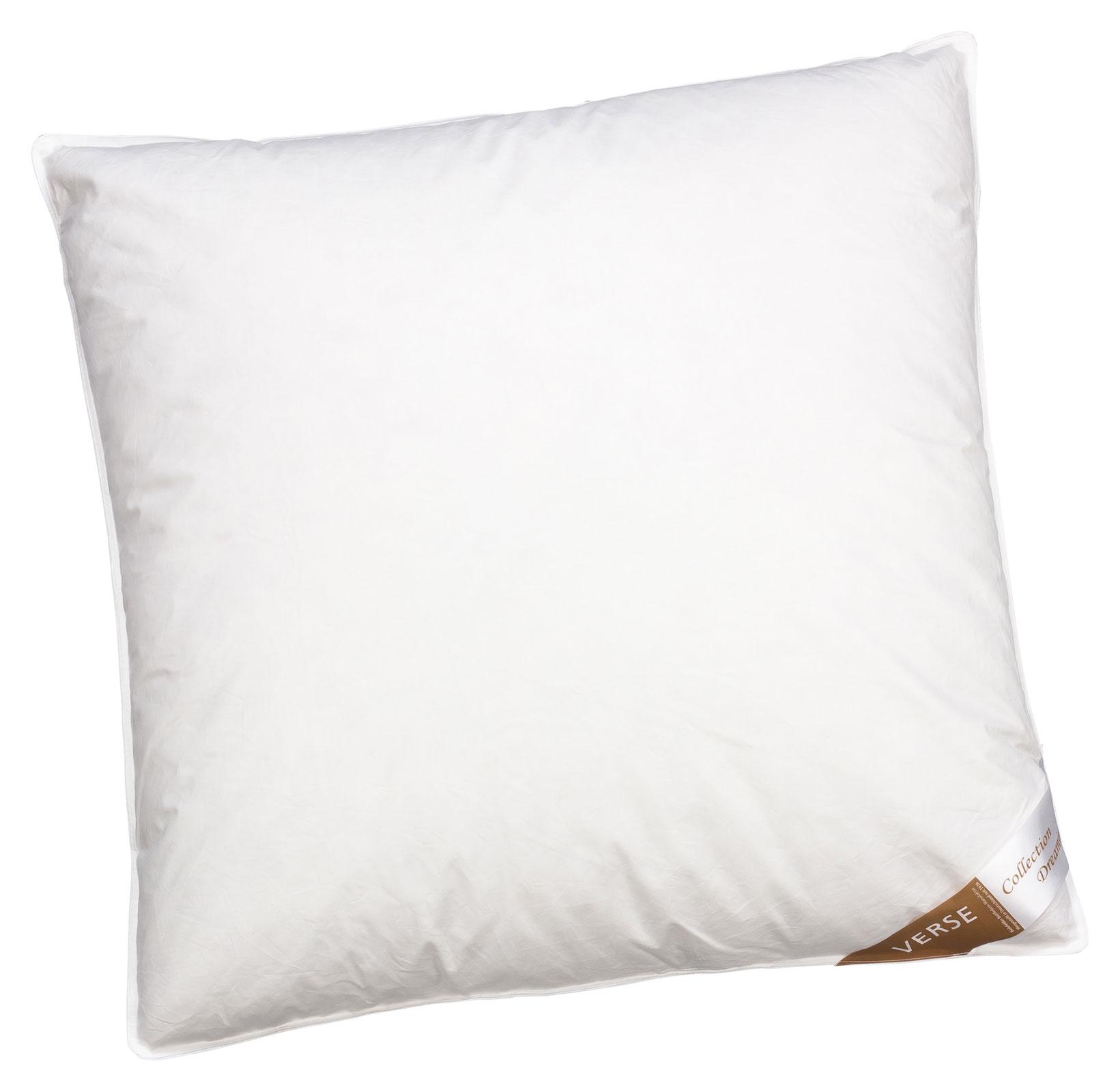 Bettdecken und Kopfkissen - Kopfkissen Daunen Kissen 80x80 fest 1200g 90 Federn 10 Daunen Verse Collection Dreaming  - Onlineshop PremiumShop321