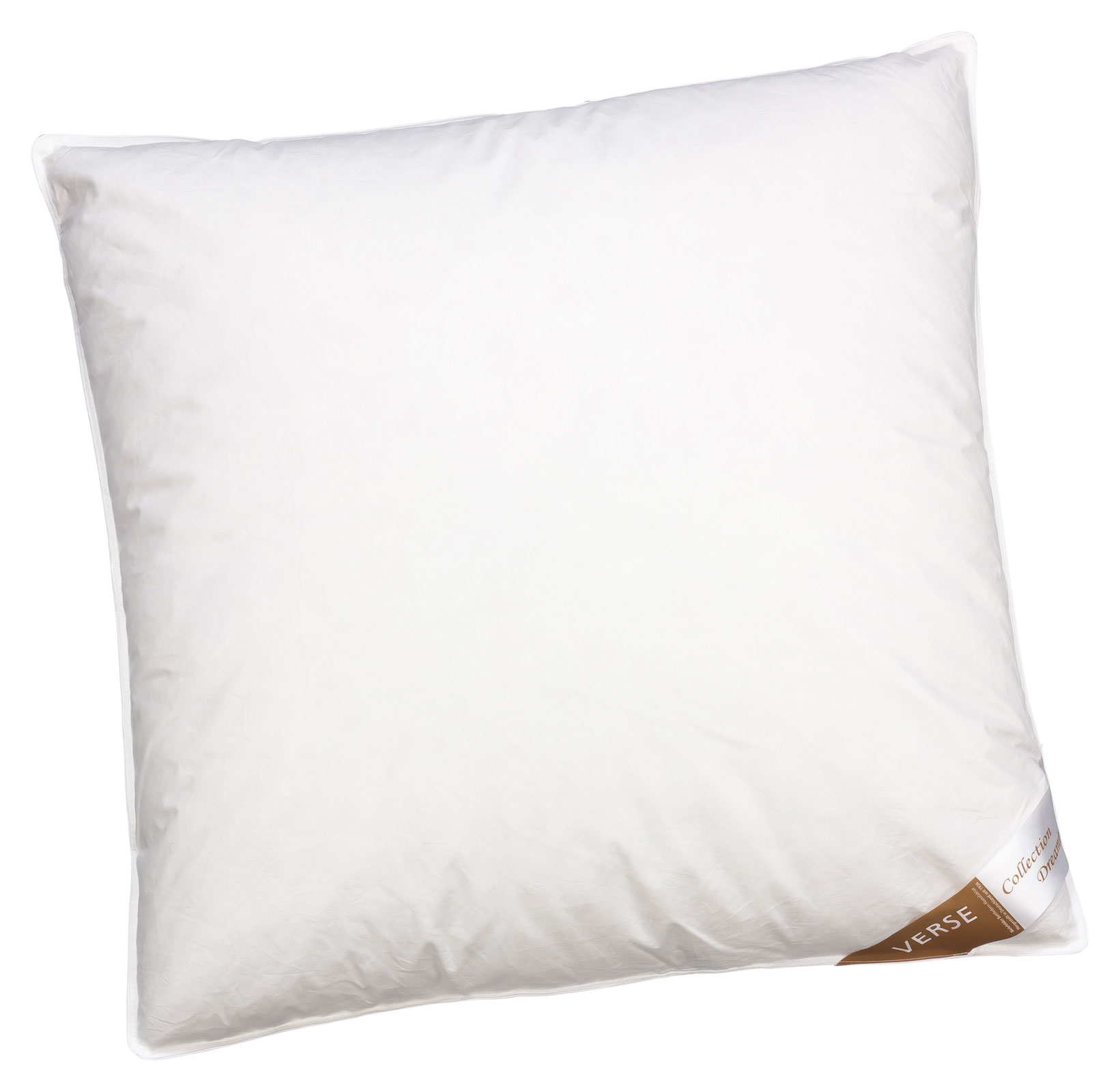 Bettdecken und Kopfkissen - Kopfkissen Daunen Kissen 80x80 weich 1100g 70 Federn 30 Daunen Verse Collection Dreaming  - Onlineshop PremiumShop321