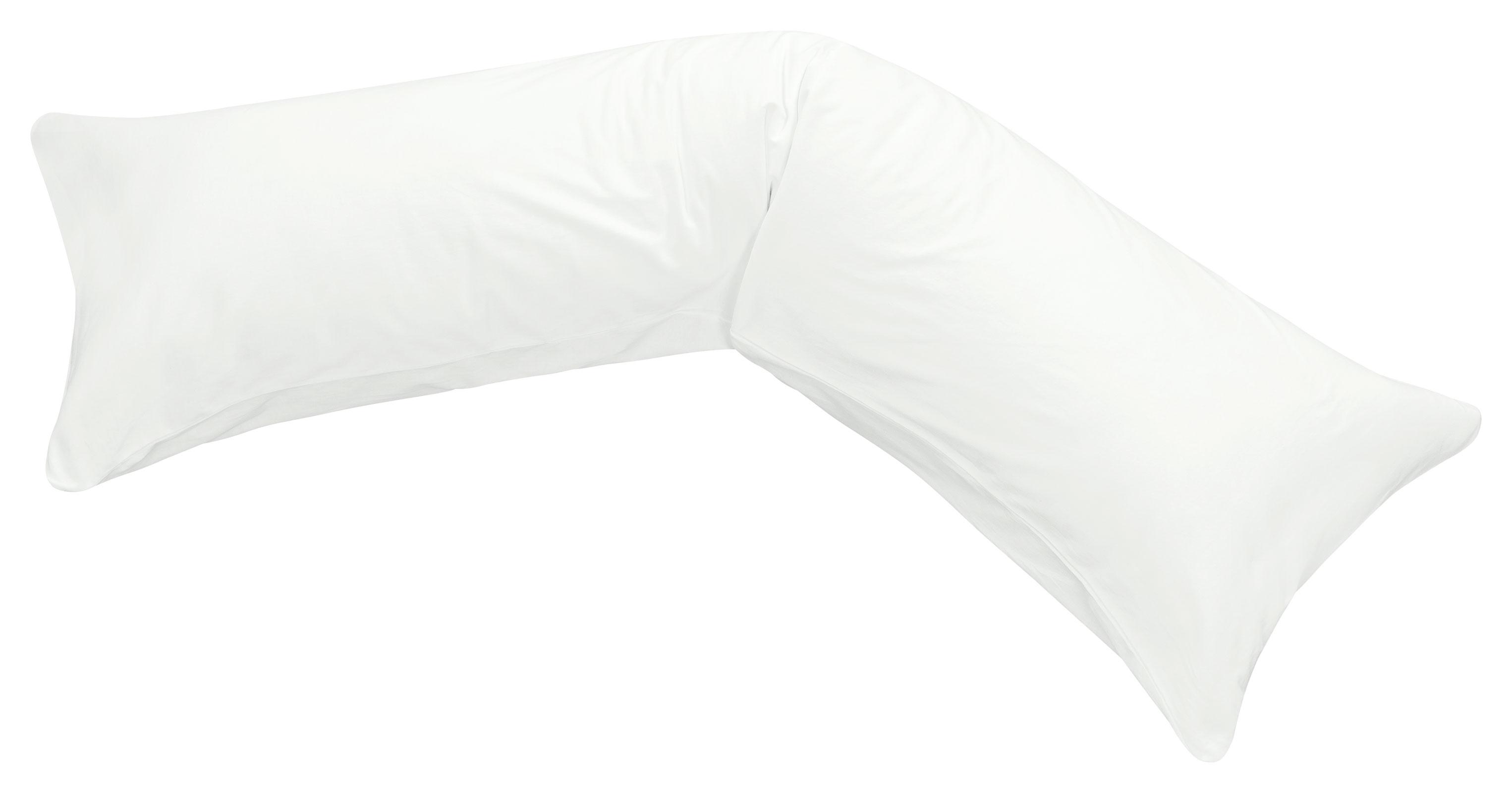 Bezug Seitenschläferkissen 40x145 100/% Leinen  MOON Kissenbezug