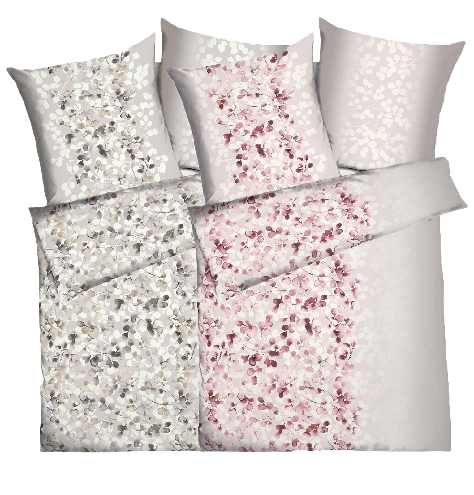 Bettwäsche - Kaeppel Mako Satin Bettwäsche 100 Baumwolle Elva Aufbewahrungsbeutel  - Onlineshop PremiumShop321
