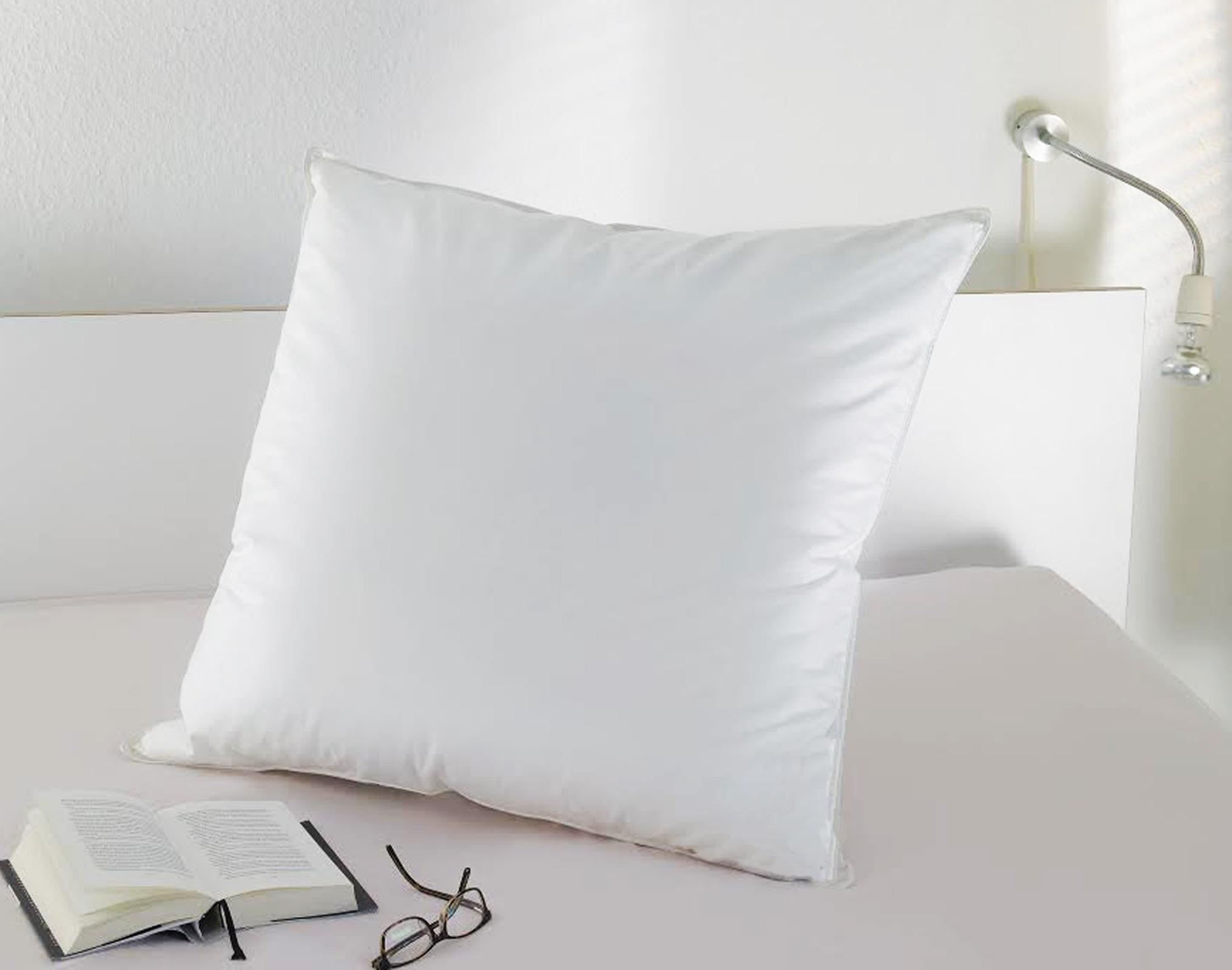 Bettdecken und Kopfkissen - Kopfkissen 40x80 500 Gramm 90 Federn 10 Daunen Serie Moon  - Onlineshop PremiumShop321
