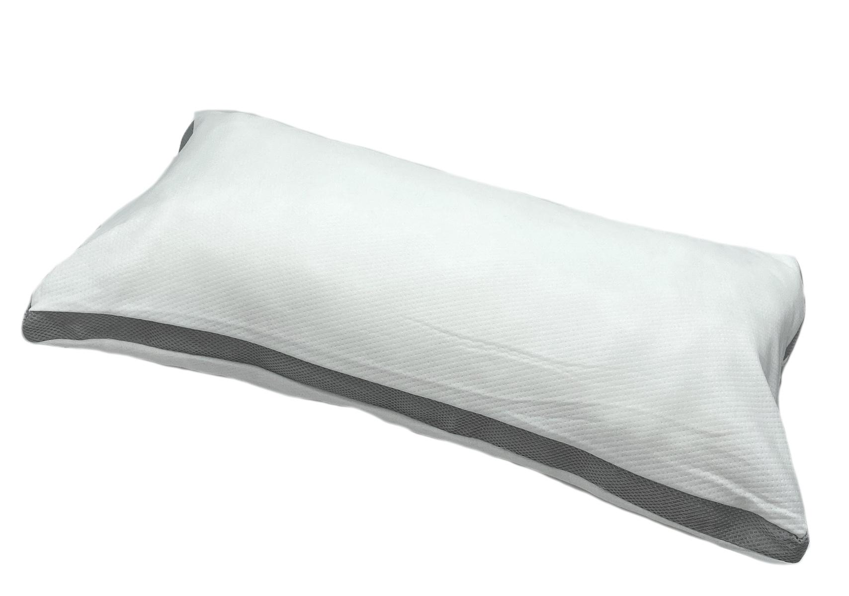 Bettdecken und Kopfkissen - Visco Nackenstützkissen weiß 40x80 Kissen  - Onlineshop PremiumShop321
