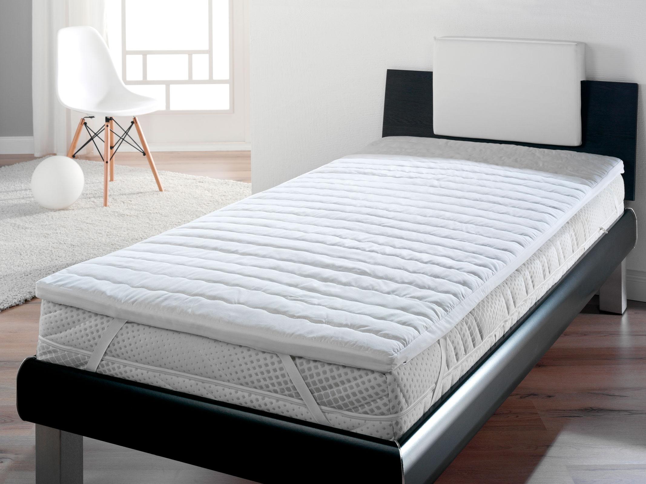 matratzen topper schoner auflage viscoelastisch visco schaum waldkind ebay. Black Bedroom Furniture Sets. Home Design Ideas