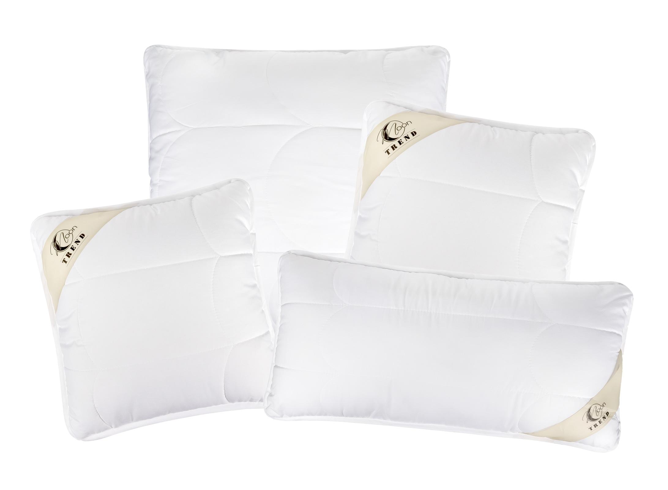 Bettdecken und Kopfkissen - MOON Trend Kopfkissen Kissen versteppt super fest mit Reißverschluss 95° waschbar  - Onlineshop PremiumShop321