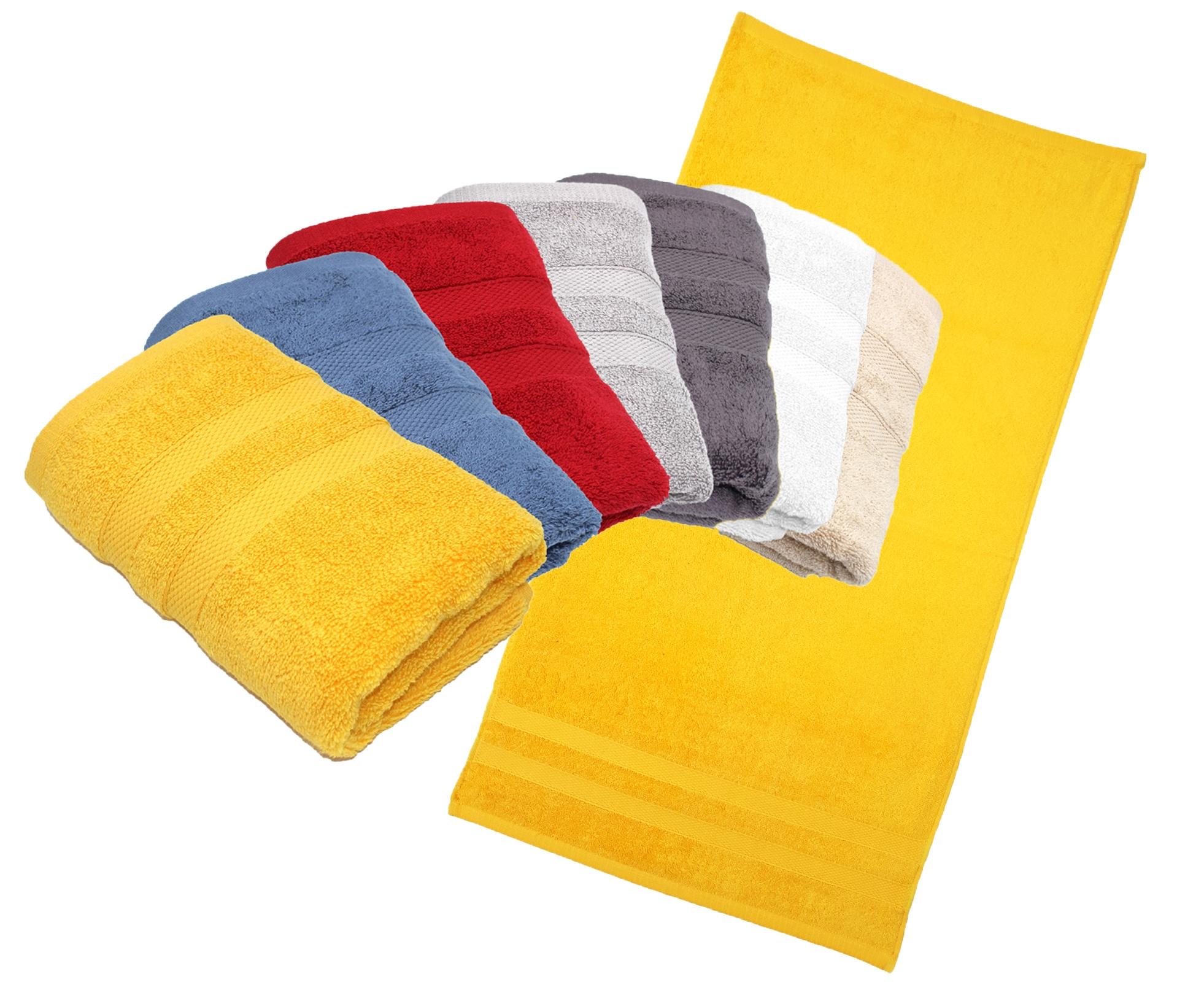 Badtextilien - 2er Pack Handtuch 50x100 Serie P.K. Soft Cotton 100 Baumwolle  - Onlineshop PremiumShop321