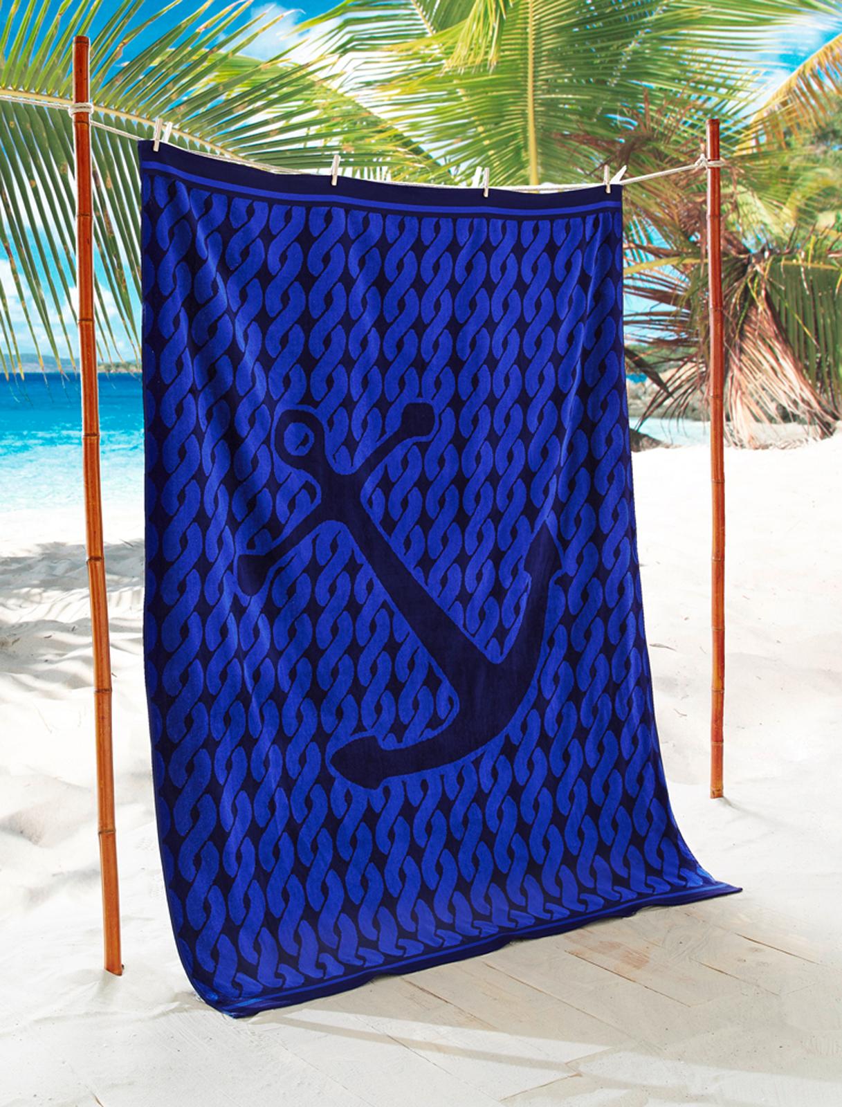 xxl partner velours strandtuch strandlaken jacquard 140x200 cm ebay. Black Bedroom Furniture Sets. Home Design Ideas
