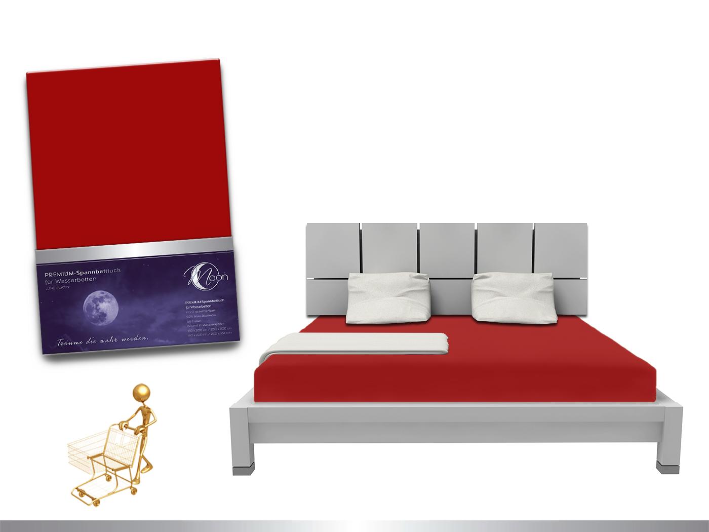 luxus wasserbett spannbettlaken line platin 180 200x220 240g m spannbetttuch. Black Bedroom Furniture Sets. Home Design Ideas