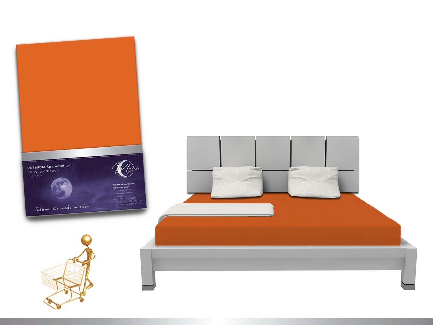luxus wasserbett spannbettlaken line platin 180 200x220 240g m spannbetttuch ebay. Black Bedroom Furniture Sets. Home Design Ideas