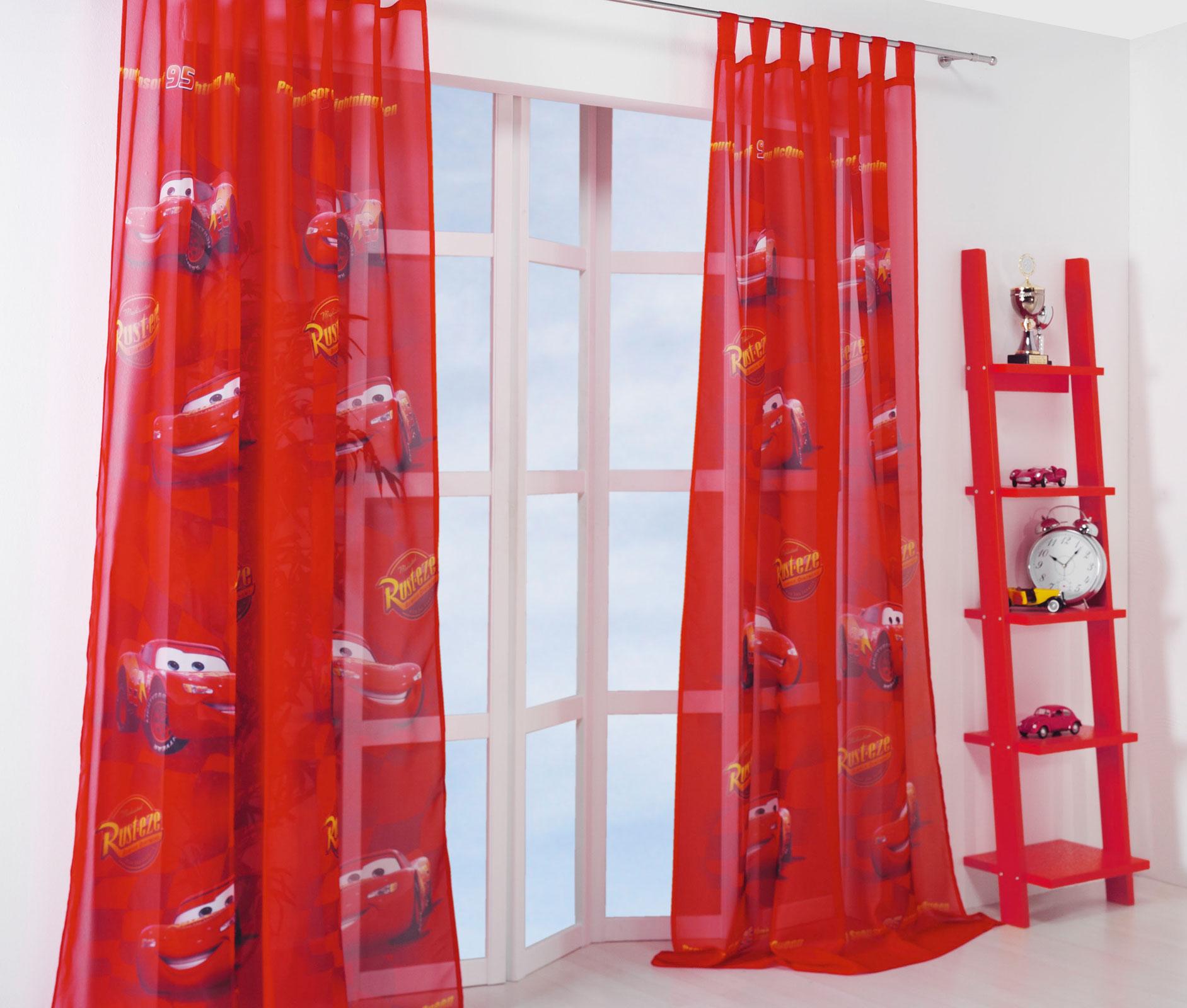 kinderzimmer gardinen vorhang set winnie the pooh cars princess doppelpack ebay. Black Bedroom Furniture Sets. Home Design Ideas