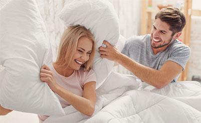 Kopfkissen, Bettdecken, Bettwäsche, Topper, Matraztenauflagen, Bettlaken, 100 Tage Widerrufsrecht, versandkostenfrei